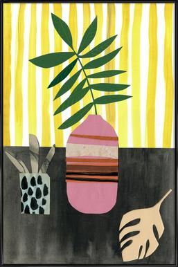Vasen & Co. 2 -Bild mit Kunststoffrahmen