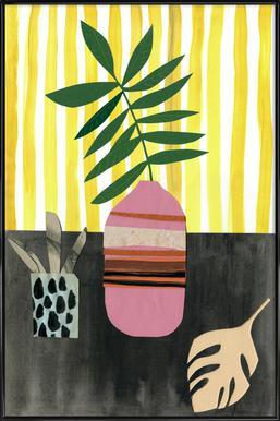 Vasen & Co. 2 ingelijste poster