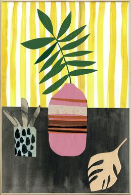Vasen & Co. 2 Poster im Alurahmen
