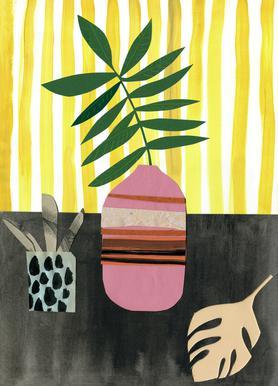 Vasen & Co. 2 -Leinwandbild