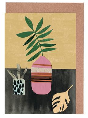 Vasen & Co. 4 Grußkartenset