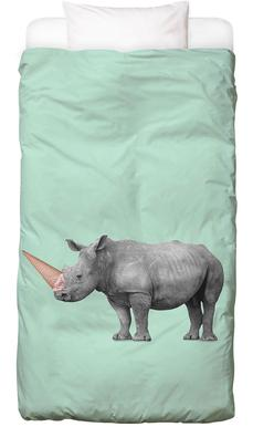 Ice Cream Rhino Linge de lit