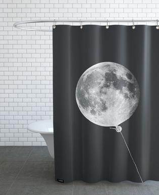 Moon Baloon Duschvorhang