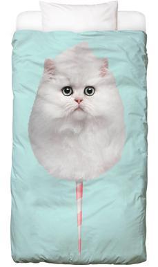 Cotton Candy Cat Bed Linen