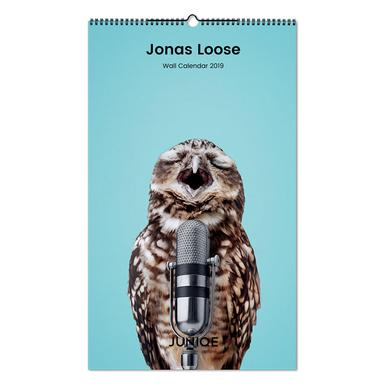 Jonas Loose 2019 Wall Calendar