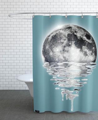 Melting Moon -Duschvorhang