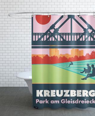 Berlin Kreuzberg douchegordijn