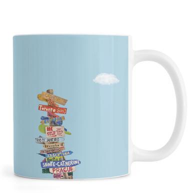 Directions mug
