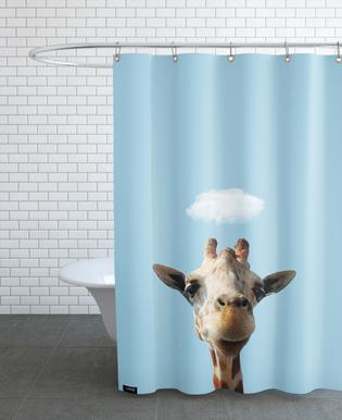 Cloud Of Liberty As Shower Curtain By Rafael Burato