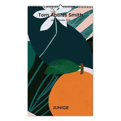 Tom Abbiss Smith 2019 -Wandkalender
