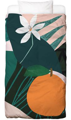 Orange Bed Linen
