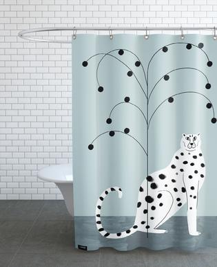 Tropicana - Cheetah and Tree Shower Curtain