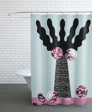 Tropicana - Kentia Palm Shower Curtain