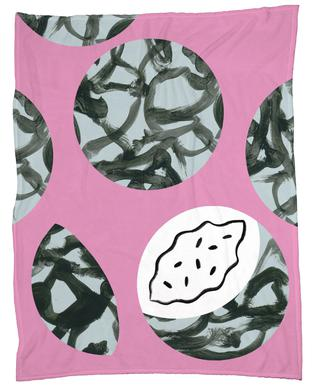 Tropiana - Fruit 2 Fleece Blanket