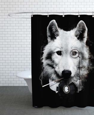 Classy Wolf Rideau de douche