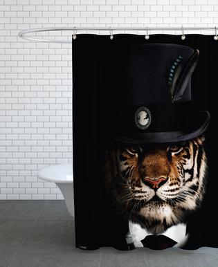 Classy Tiger Shower Curtain