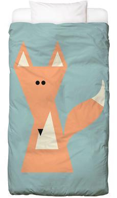 Ray the Fox Linge de lit enfant
