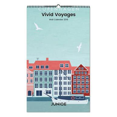 Vivid Voyages 2019 Calendrier mural