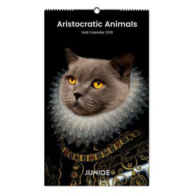 Aristocratic Animals 2019 Calendrier mural