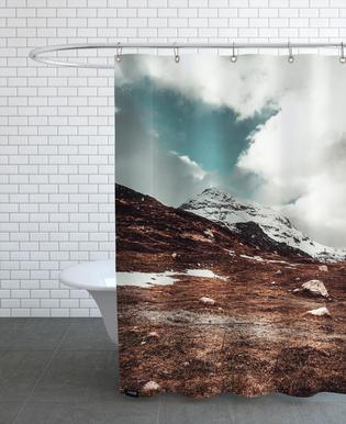 Clouding over by Pascal Brändle Shower Curtain