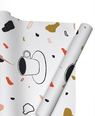 Coffee Lady Gift Wrap