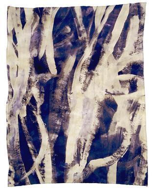 Rakugaki Fleece Blanket