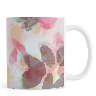 Floral Aquaellic Mug