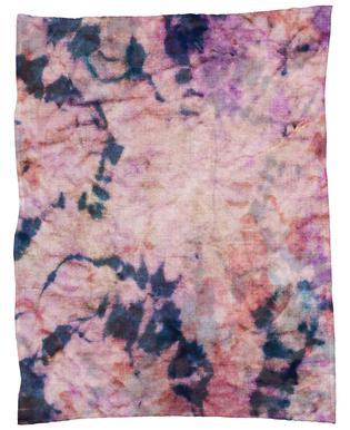 Textile Study Rosé Fleece Blanket