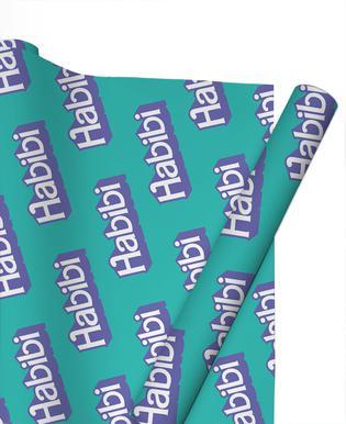 Habibi Pattern Papier cadeau