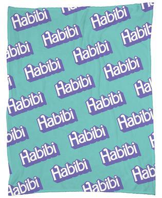 Habibi Pattern Fleecedecke