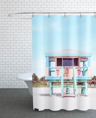 South Beach -Duschvorhang