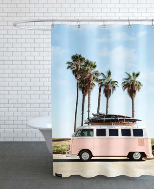 Venice Beach Rideau de douche