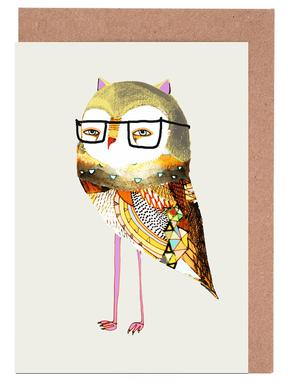 Buy greeting cards online juniqe best owl ashley percival greeting card set m4hsunfo