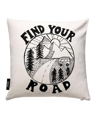 Find Your Road Cushion Cover