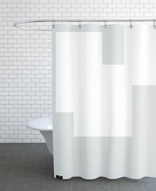 Three White Ones Shower Curtain