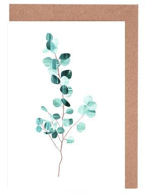 Eucalyptus Set de cartes de vœux
