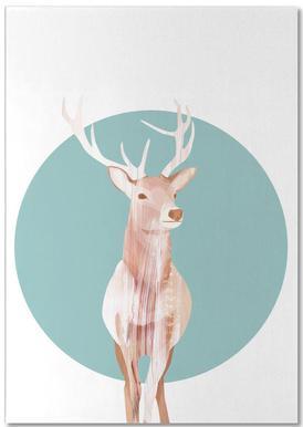 Deer notitieblok