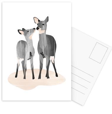 Oh Deer ansichtkaartenset