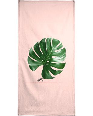 Monstera Ant Beach Towel