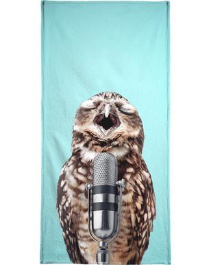 Owl Mic handdoek