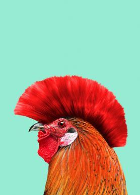 Punk Cock Canvas Print