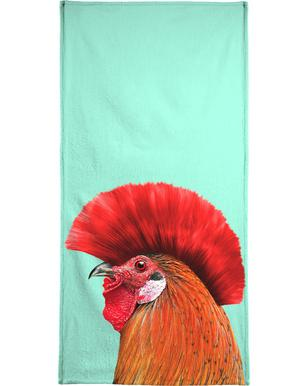 Punk Cock Beach Towel
