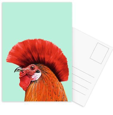 Punk Cock ansichtkaartenset