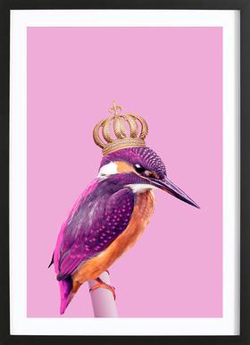 Queen Fisher ingelijste print