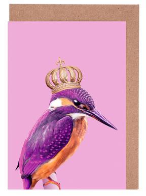 Queen Fisher Grußkartenset