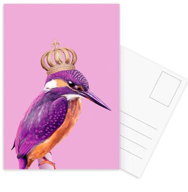 Queen Fisher ansichtkaartenset