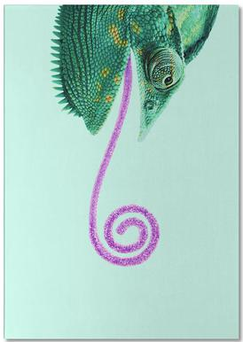 Candy Chameleon Notepad