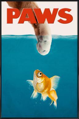 Paws Framed Poster