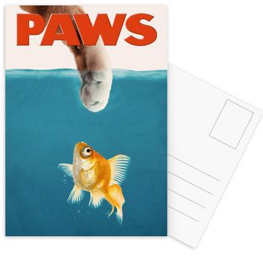 Paws Postcard Set