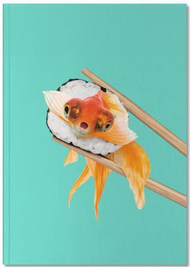 Sushi Goldfish Notebook